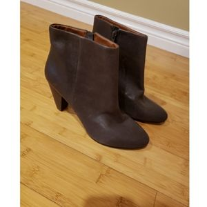Lucky brand brown booties 9